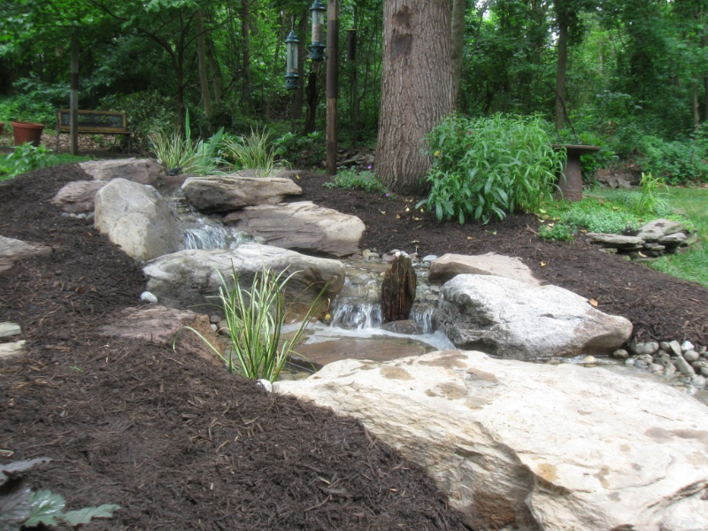 About us baltimore maryland ponds and waterfalls for Waterfall installation