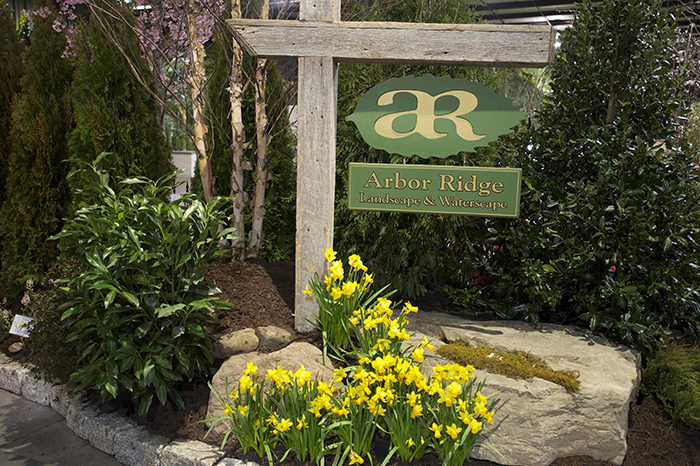 Arbor ridge services at the 2013 md home garden show Md home and garden show