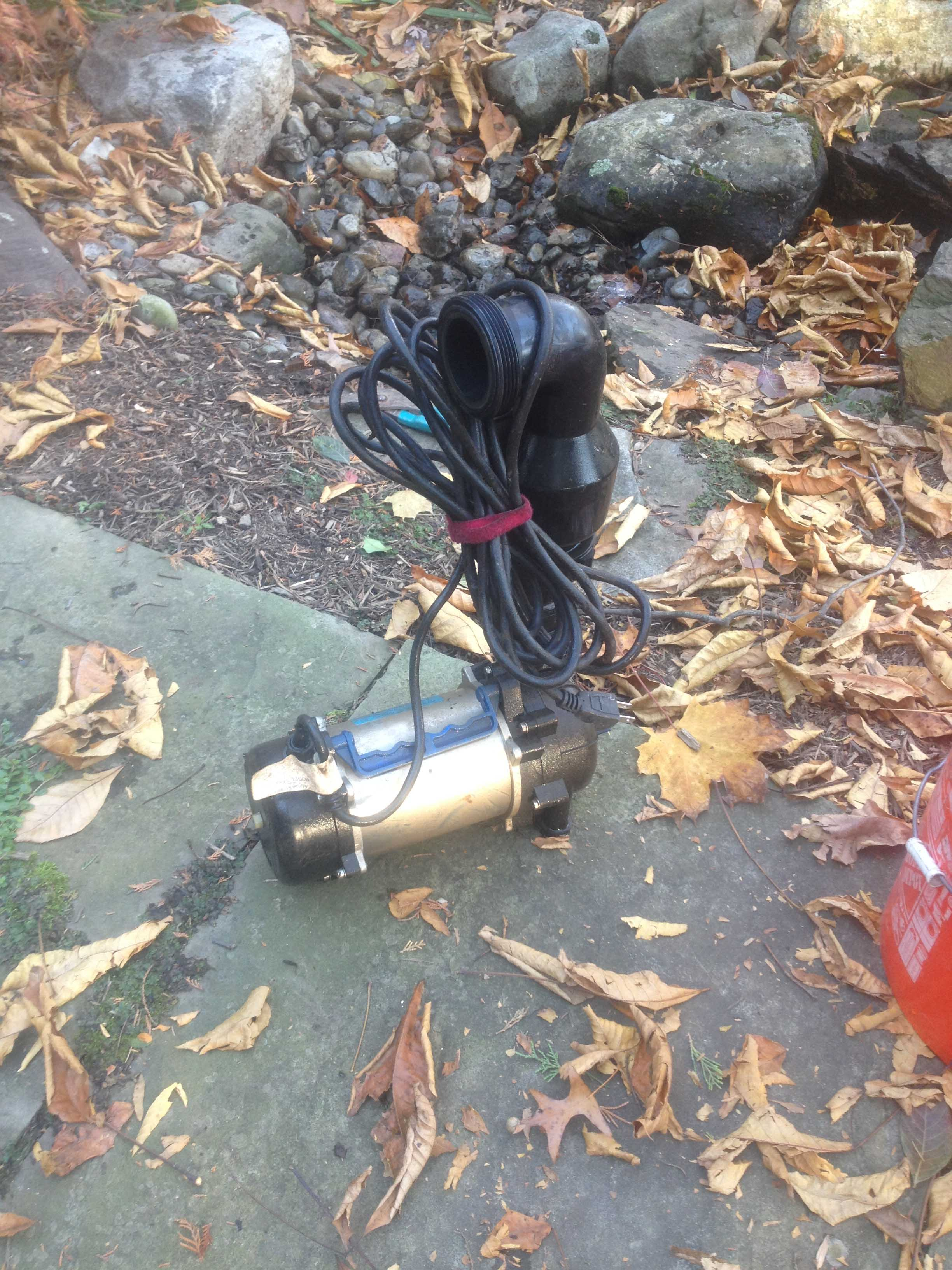 Stupendous How Do I Fix My Pond Pump Motor Baltimore Pond Companies Wiring Cloud Oideiuggs Outletorg
