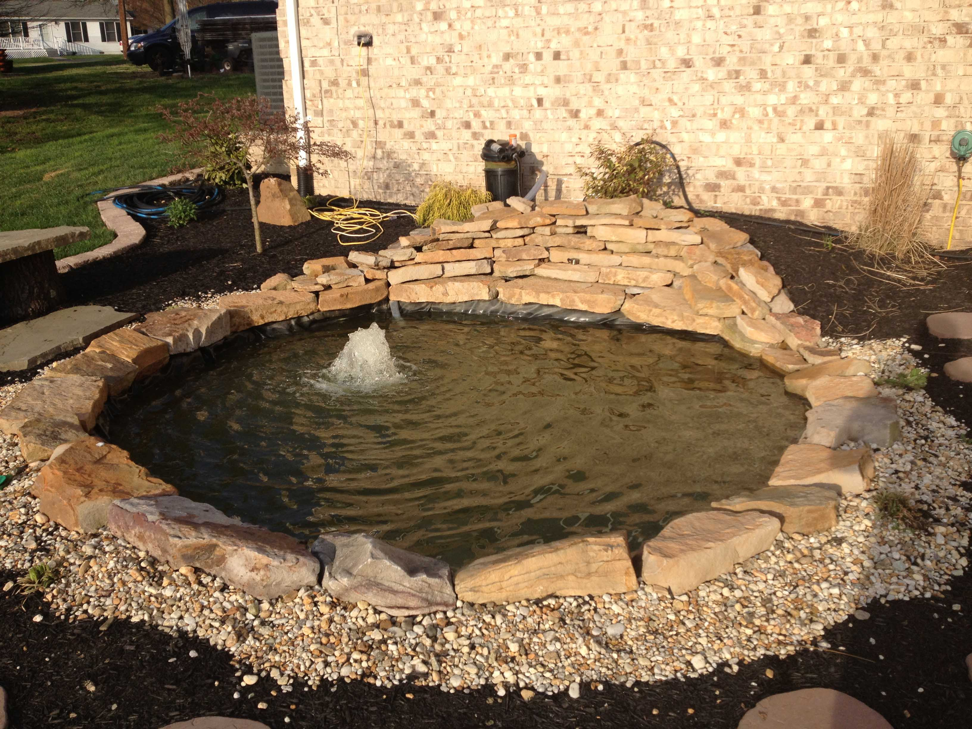 10 most common diy pond building mistakes baltimore for Diy small pond with waterfall
