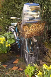 ... Home U0026 Garden Show | Baltimore Pond Company Featured.  Bicycle Fountain 681x1024EDIT2
