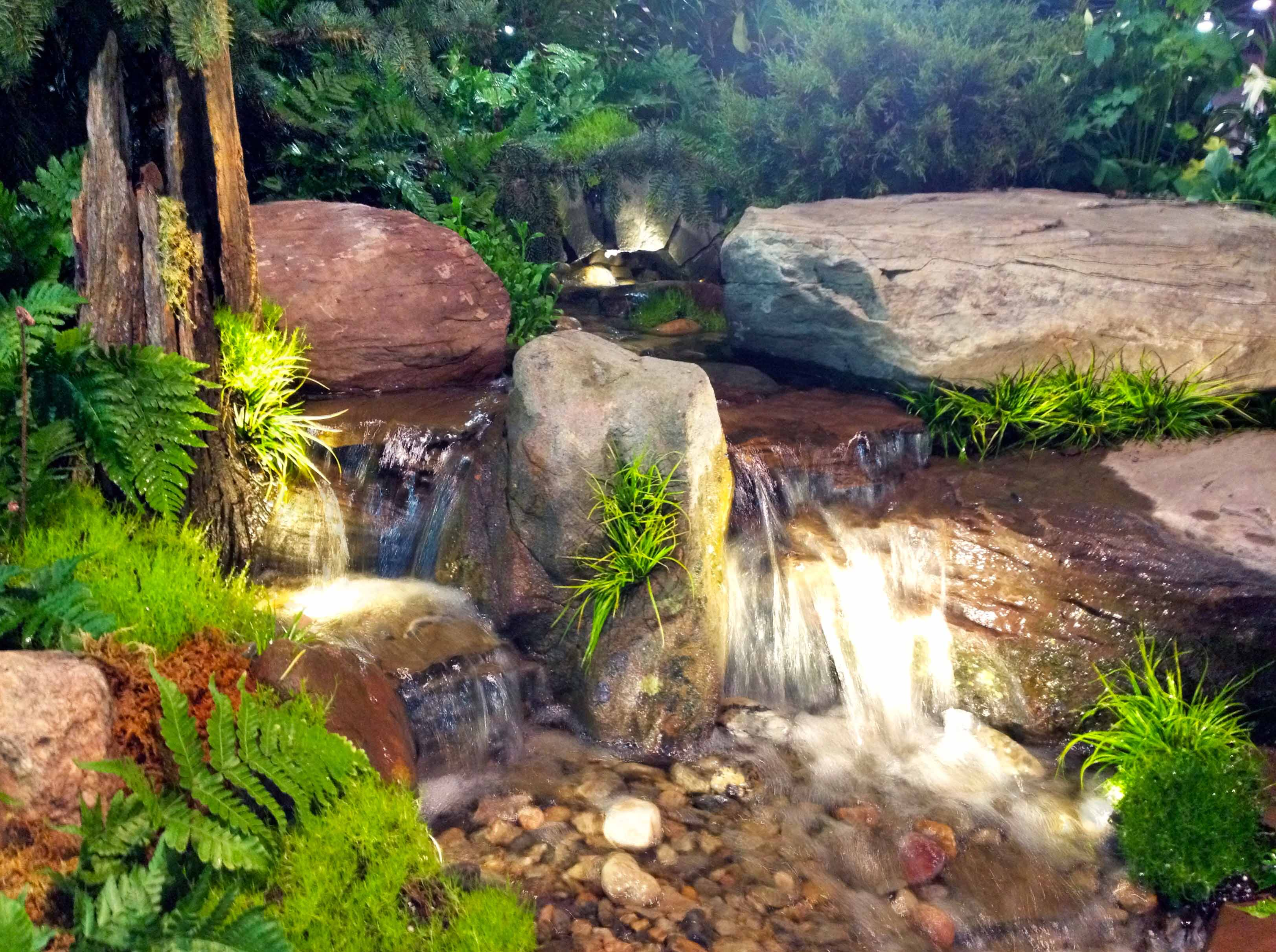 Waterfall | Pond | Maryland Home And Garden Show | Baltimore, Maryland (MD)